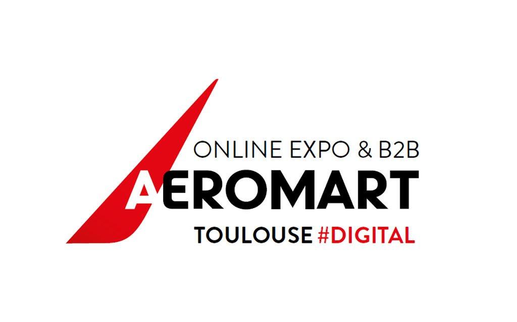 Logo Aeromart Convention d'affaires aéronautique et spatial à Toulouse - 2020